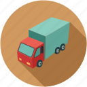 cargo van, delivery van, transport, van, vehicle icon