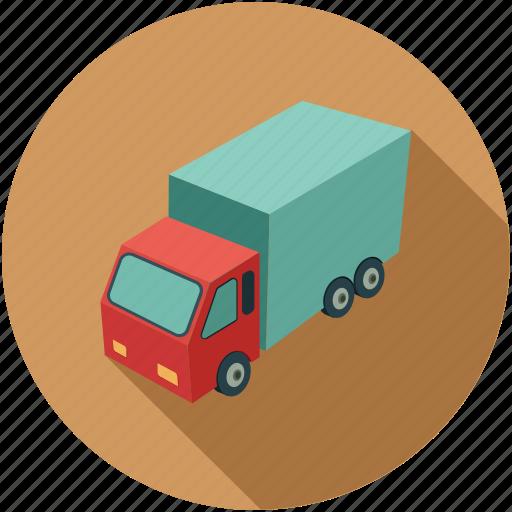 cargo van, delivery van, transport, van, vehicle icon