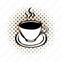 breakfast, brown, cafe, coffee, cup, morning, mug icon