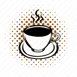 breakfast, brown, cafe, coffee, cup, morning, mug icon