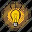 bulb, creative, energy, idea, illumination, lightbulb, power icon