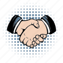 contract, deal, hand, handshake, meeting, shake, success icon
