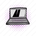 blank, computer, deal, laptop, notebook, screen, technology icon