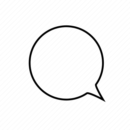 bubble, chat, message, talking icon