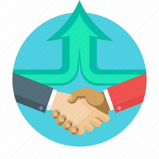 agreement, business, concept, hands, handshake, partners icon