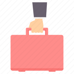 bag, briefcase, business, marketing, money, office icon