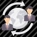 connect, country, head, locate us, location, representative, world icon