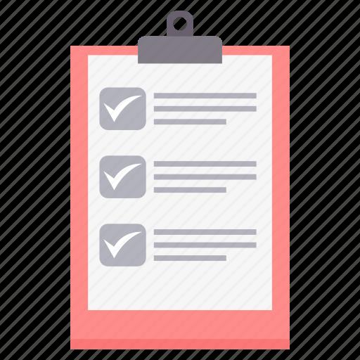 check, checklist, clipboard, list, task, tick, tickmark icon