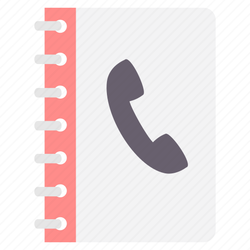 book, business, contact, list, phone, register, telephone icon