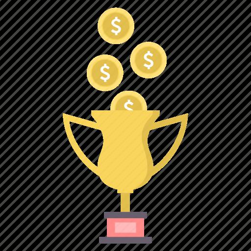 achievement, champion, cup, prize, reward, trophy, win icon
