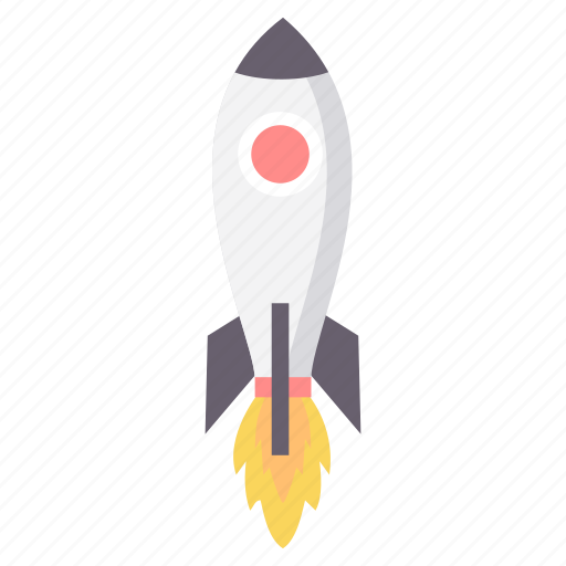 business, launch, missile, rocket, space, spaceship, startup icon