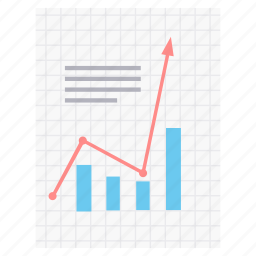 business, chart, diagram, document, graph, paper, sheet icon