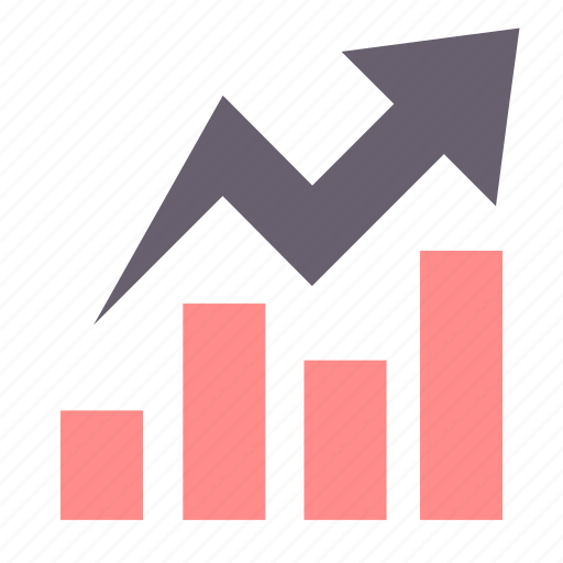 analytics, business, chart, graph, growth, report, sales icon