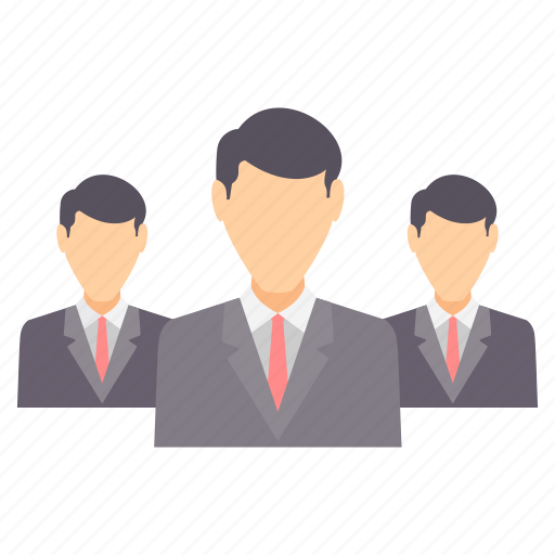 business, employees, group, management, people, team, users icon