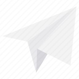 email, message, paper, paper plane, plane, post, send icon