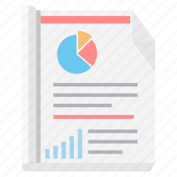 analysis, analytics, business, diagram, graph, report, sheet icon