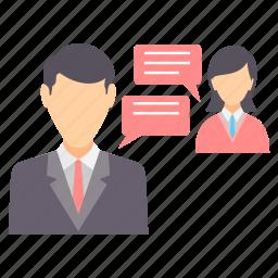 bubble, chat, chatting, communication, conversation, speech icon