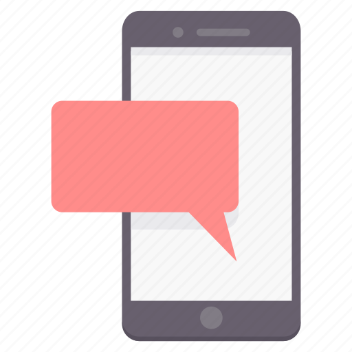chat, conversation, message, mobile, phone, talk, telephone icon