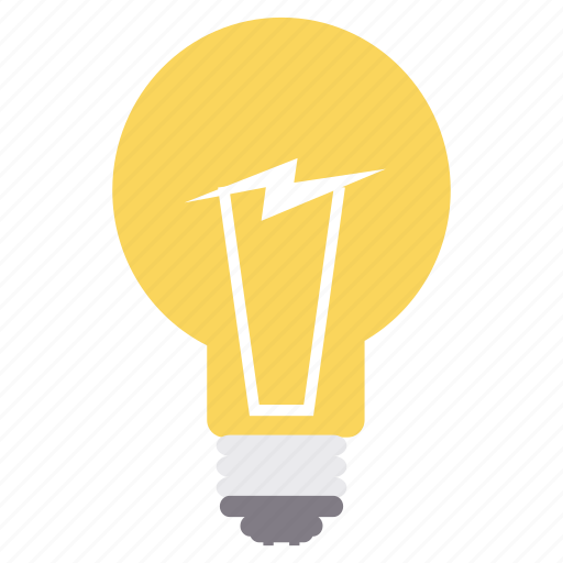 bulb, charge, creative, electric, energy, idea, power icon