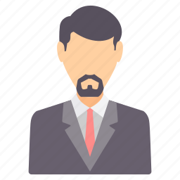 boss, man, manager, people, person, profile, user icon
