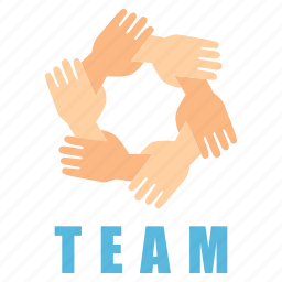 group, management, people, person, sign, team, together icon