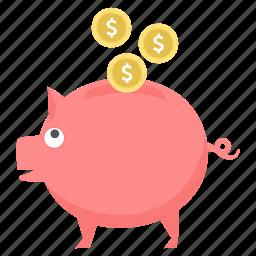 funds, growth, guardar, mutual, plan, retirement, save, savings icon