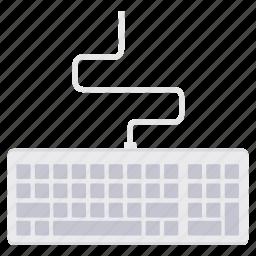 computer, device, input, key, keyboard, keys, technology icon