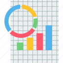 analytics, bar, business, graph, pie, presentation, statistics icon