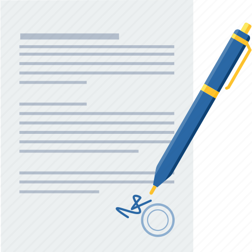 agreement, business, contract, deal, sign, signature icon