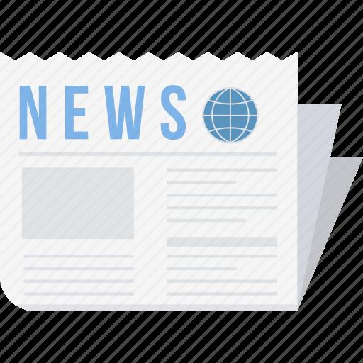 article, blog, communication, media, network, news, newsletter icon