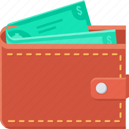 cash, currency, dollar, money, save, savings, wallet icon