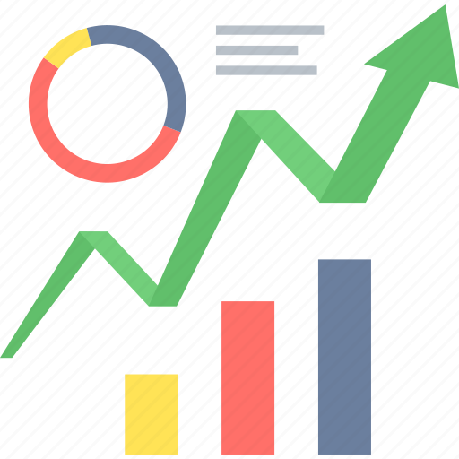 analysis, business, chart, diagram, graph, growth, marketing icon