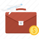 bag, business, holiday, tour, transport, travel, travelling icon