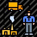 chain, employee, industry, supply, vehicle