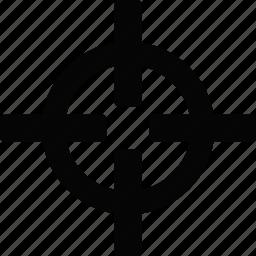 cursor, target icon