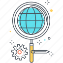 achievement, magnifier, market, offer, search, special, take icon