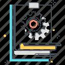 commerce, community, computer, concept, construction, design, development icon