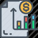 analysis, bar, business icon, chart, graph, statistics