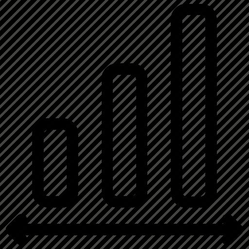 analysis, growth, sales icon