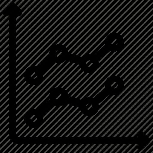 analysis, report, sales icon