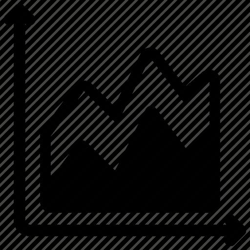 analysis, chart, graph icon