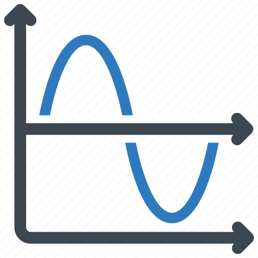 analytics, graph, line icon