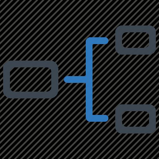 Hierarchy, organization, plan icon - Download on Iconfinder