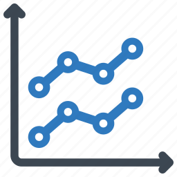 analysis, graph, report, sales icon