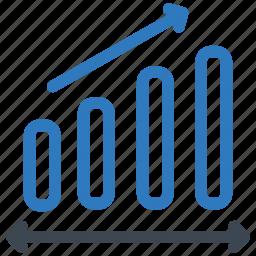 analytics, growth, increase icon