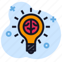 business, creative, economics, idea, lamp icon