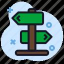 board, business, decision, economics, road, street icon