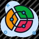 business, chart, economics, pie, stats icon