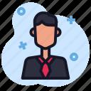 avatar, business, businessman, economics, people icon