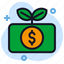 business, economics, growth, investment, money icon